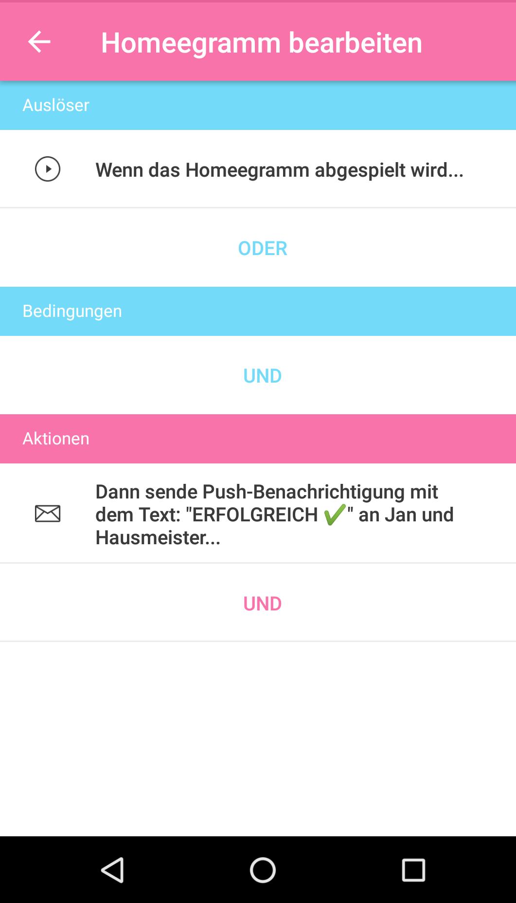 push nachrichten doppelt empfangen 2 tee versuch android app homee community. Black Bedroom Furniture Sets. Home Design Ideas