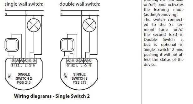 Fibaro Single Switch 2 Mit Zwei Schaltern Verwenden Smart Home